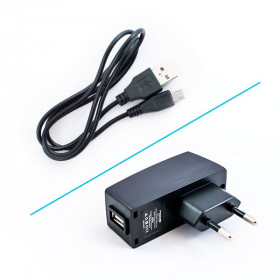 ND-420 Caricabatterie + Cavo Micro USB